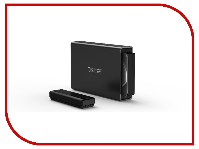 Аксессуар Корпус для HDD Orico NS100C3 Black корпус для hdd orico 9528u3 2 3 5 ii iii hdd hd 20 usb3 0 5