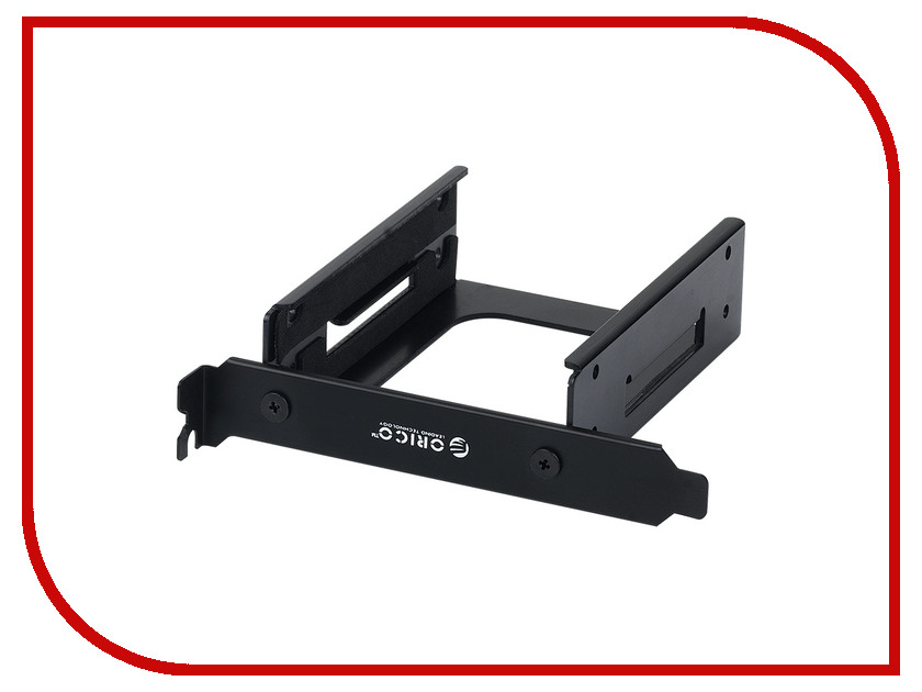 Аксессуар Салазки для HDD Orico PCI25-2S-V1 Black orico cpd 7p6g ba60 v1 serial sata 3 0 data cable sas cablewith locking latch 6 gbps 60cm