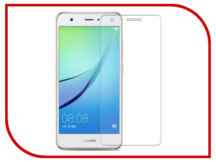 Аксессуар Защитная пленка Huawei Nova 2i / Honor 9i / Mate 10 Lite Red Line