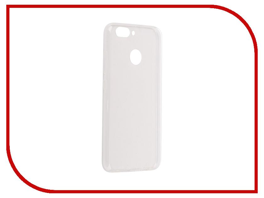 Аксессуар Чехол-накладка для Huawei Nova 2 2017 iBox Crystal Silicone Transparent аксессуар чехол накладка micromax canvas viva a106 activ silicone black mat 46857