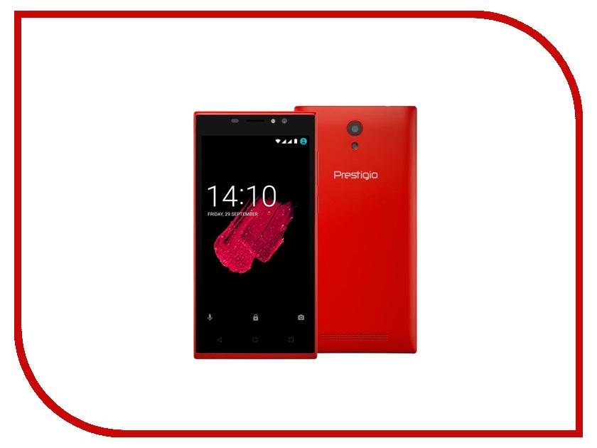 Сотовый телефон Prestigio Muze C5 Red планшет prestigio muze 3708 3g pmt3708