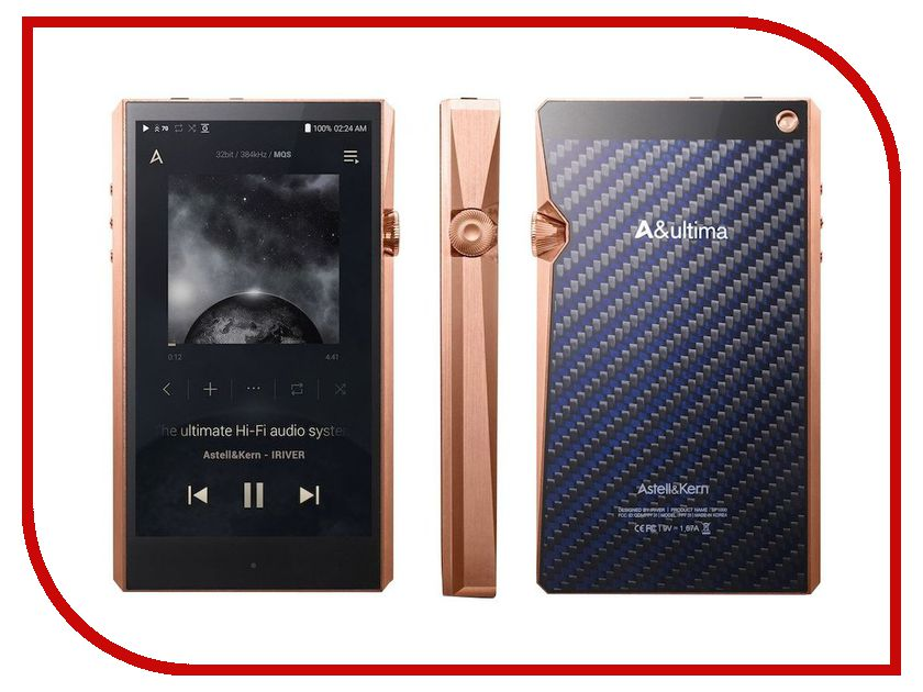 Плеер iRiver Astell&Kern SP1000 256Gb Copper плеер iriver astell