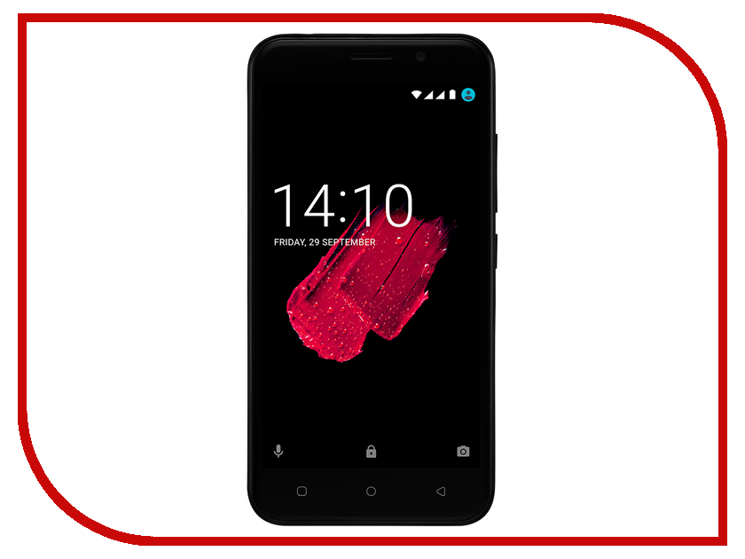 Сотовый телефон Prestigio Grace M5 5511 Duo Black стоимость