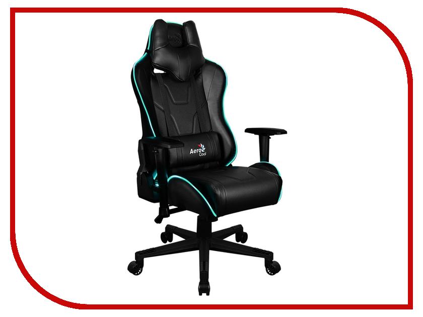 Компьютерное кресло AeroCool AC220 AIR RGB Black 0516642 цена и фото