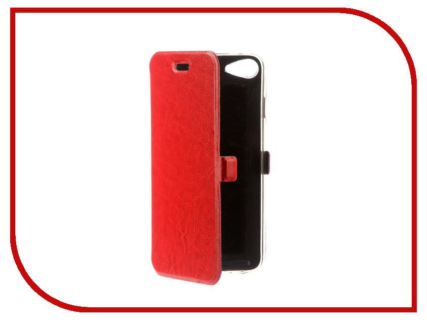 Аксессуар Чехол CaseGuru Magnetic Case для APPLE iPhone 7 Glossy Red 99849 аксессуар чехол apple iphone se leather case red mr622zm a