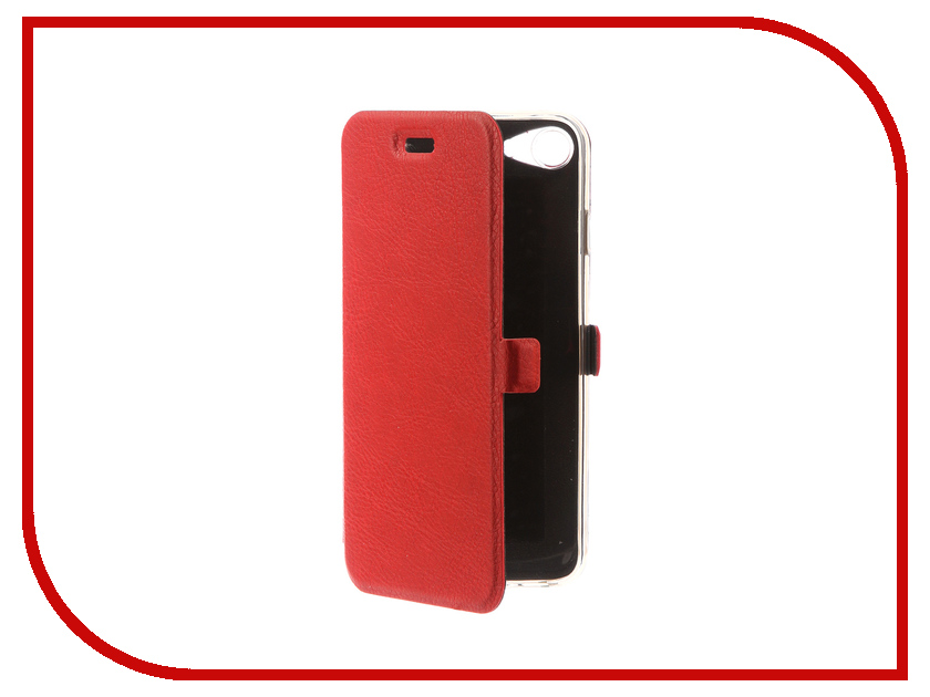Аксессуар Чехол CaseGuru Magnetic Case для APPLE iPhone 7 Glossy Red 99856 аксессуар чехол apple iphone se leather case red mr622zm a