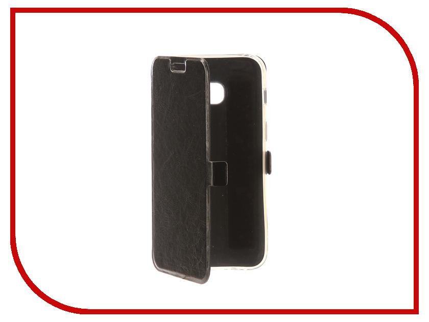 Аксессуар Чехол Samsung Galaxy A3 2017 CaseGuru Magnetic Case Glossy Black 99865 аксессуар защитное стекло samsung galaxy a3 2017 solomon full cover black
