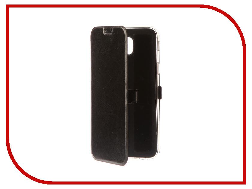 Аксессуар Чехол для Samsung Galaxy J5 2017 CaseGuru Magnetic Case Glossy Black 99913 nillkin protective matte plastic back case for samsung galaxy alpha g850f black