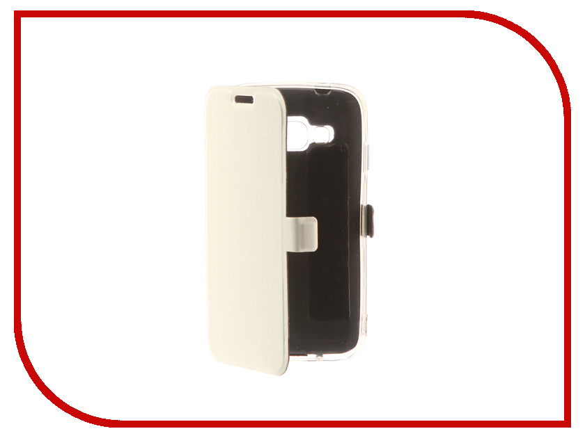 Аксессуар Чехол Samsung Galaxy J1 Mini Prime CaseGuru Magnetic Case Glossy White 100465 аксессуар чехол samsung galaxy j1 2016 caseguru magnetic case glossy white 101040