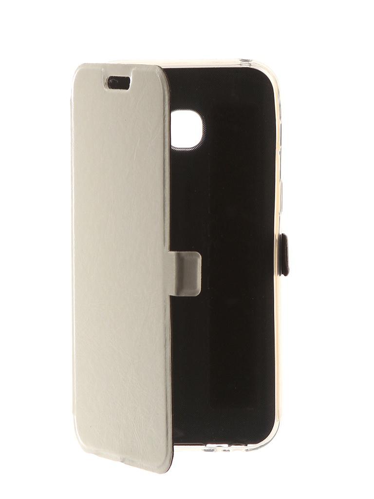 Аксессуар Чехол CaseGuru для Samsung Galaxy A3 2017 Magnetic Case Glossy White 99860 цена