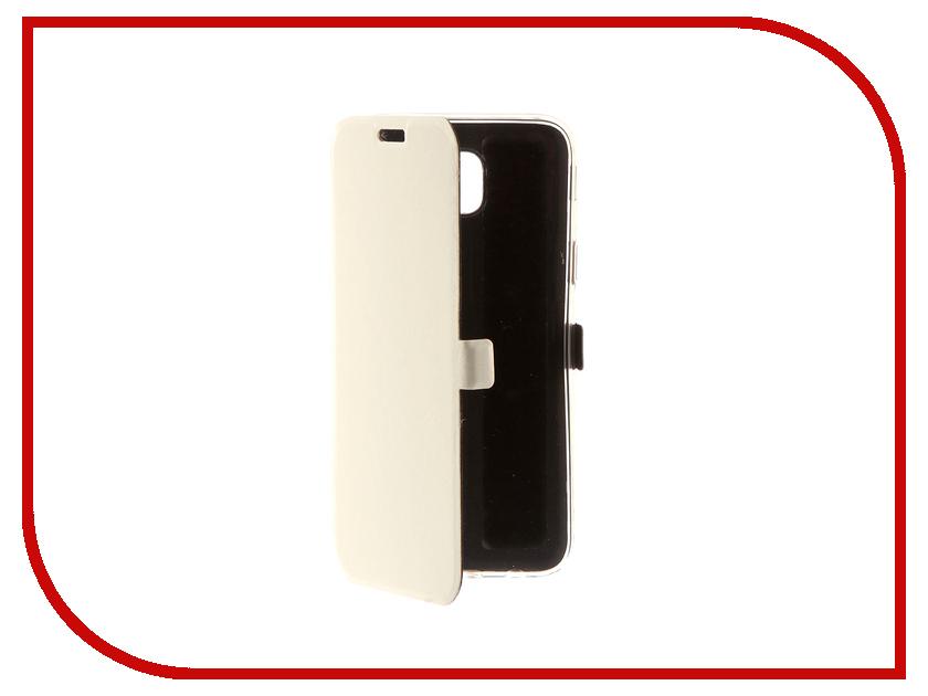 Аксессуар Чехол для Samsung Galaxy J5 2017 CaseGuru Magnetic Case Glossy White 99908 аксессуар защитное стекло samsung g925f galaxy s6 edge caseguru 3d 0 33mm white