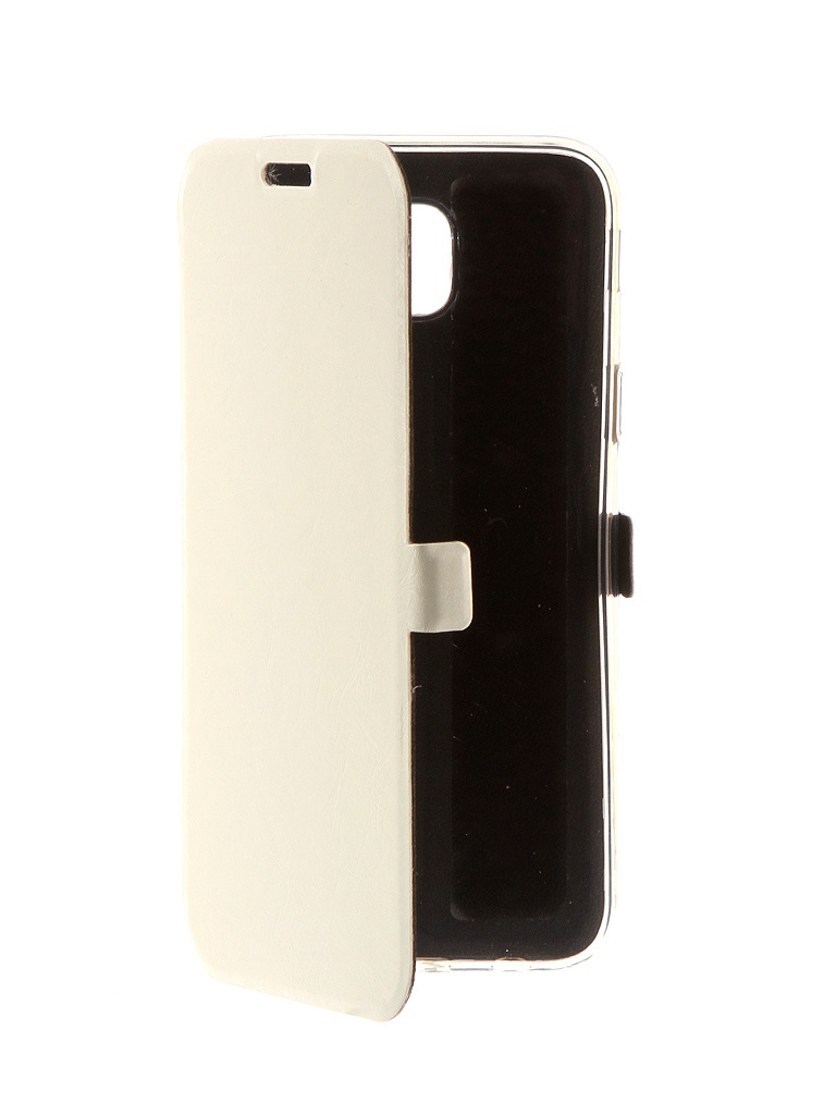 Аксессуар Чехол CaseGuru для Samsung Galaxy J5 2017 Magnetic Case Glossy White 99908