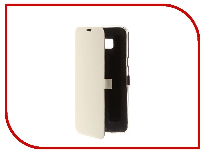 Аксессуар Чехол для Samsung Galaxy S8 Plus CaseGuru Magnetic Case Glossy White 100525 аксессуар защитное стекло samsung g925f galaxy s6 edge caseguru 3d 0 33mm white