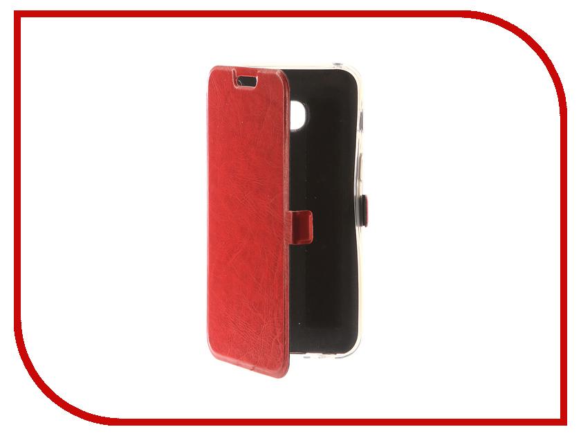 Аксессуар Чехол для Samsung Galaxy A3 2017 CaseGuru Magnetic Case Glossy Red 99861 аксессуар чехол накладка samsung galaxy a3 2016 caseguru liquid 87798