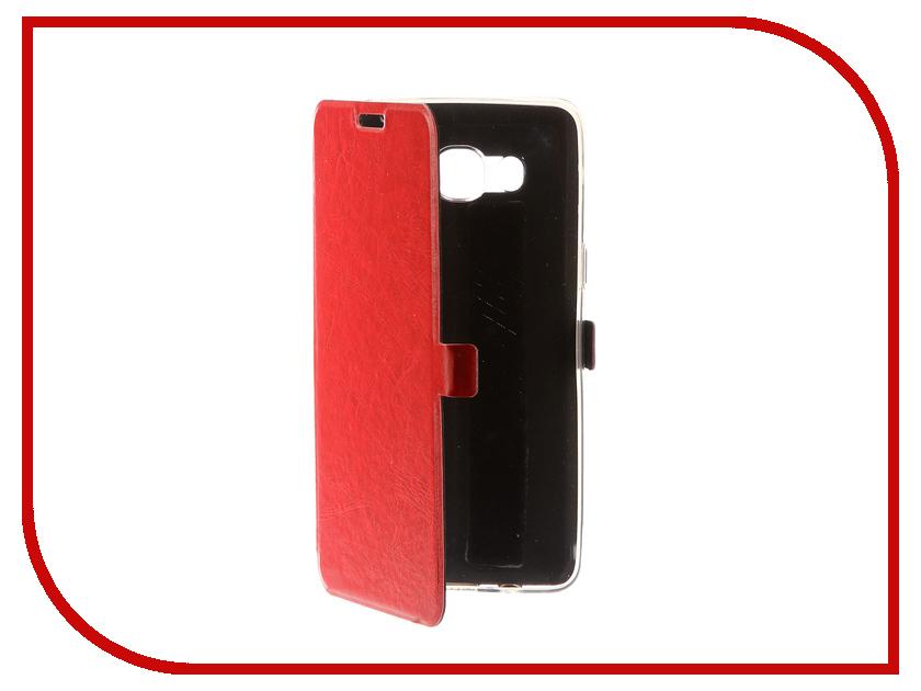 Аксессуар Чехол для Samsung Galaxy J5 2016 CaseGuru Magnetic Case Glossy Red 100490