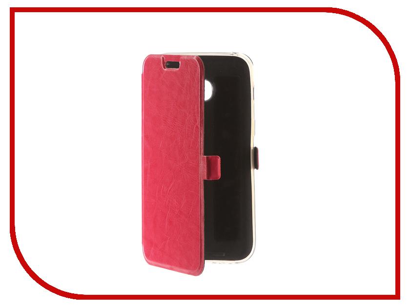 Аксессуар Чехол для Samsung Galaxy A3 2017 CaseGuru Magnetic Case Glossy Pink 99862 аксессуар чехол накладка samsung galaxy a3 2016 caseguru liquid 87798