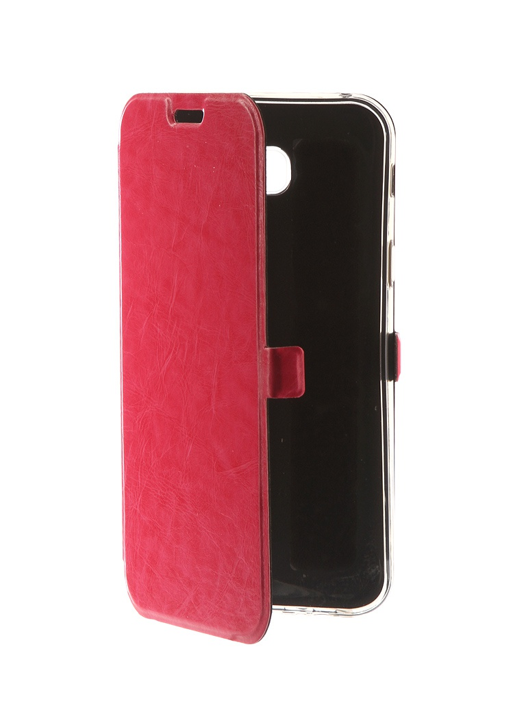 Аксессуар Чехол CaseGuru для Samsung Galaxy A7 2017 Magnetic Case Glossy Pink 99886 аксессуар чехол для samsung galaxy j7 j730 2017 gecko transparent glossy white s g sgj7 2017 wh