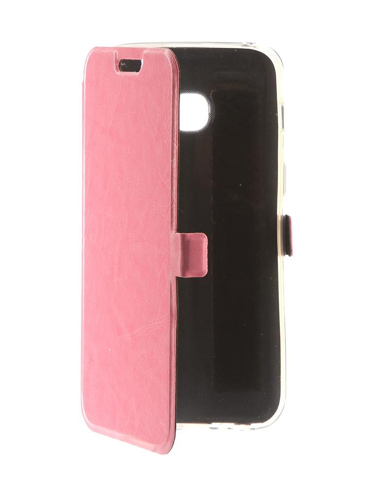 Аксессуар Чехол CaseGuru для Samsung Galaxy A3 2017 Magnetic Case Glossy Light Pink 99863 чехол для huawei y9 2018 caseguru magnetic case синий
