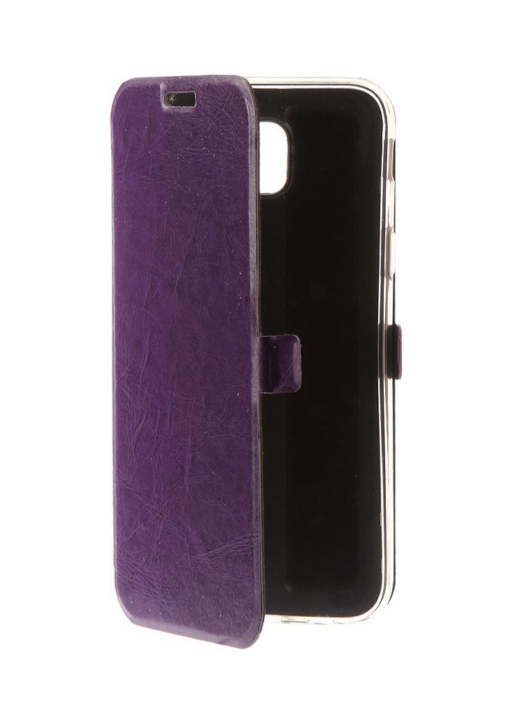 Аксессуар Чехол CaseGuru для Samsung Galaxy J5 2017 Magnetic Case Glossy Purple 99912
