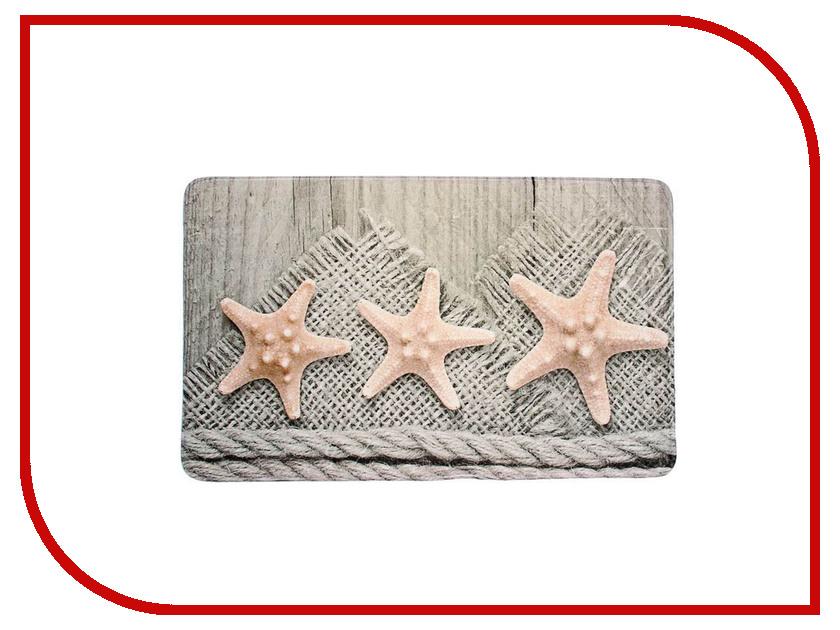 Коврик Доляна Морские звезды 75x45cm 1515745 морские истории