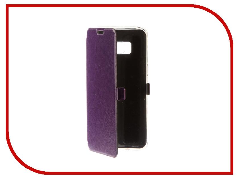цена на Аксессуар Чехол для Samsung Galaxy S8 CaseGuru Magnetic Case Glossy Purple 100517