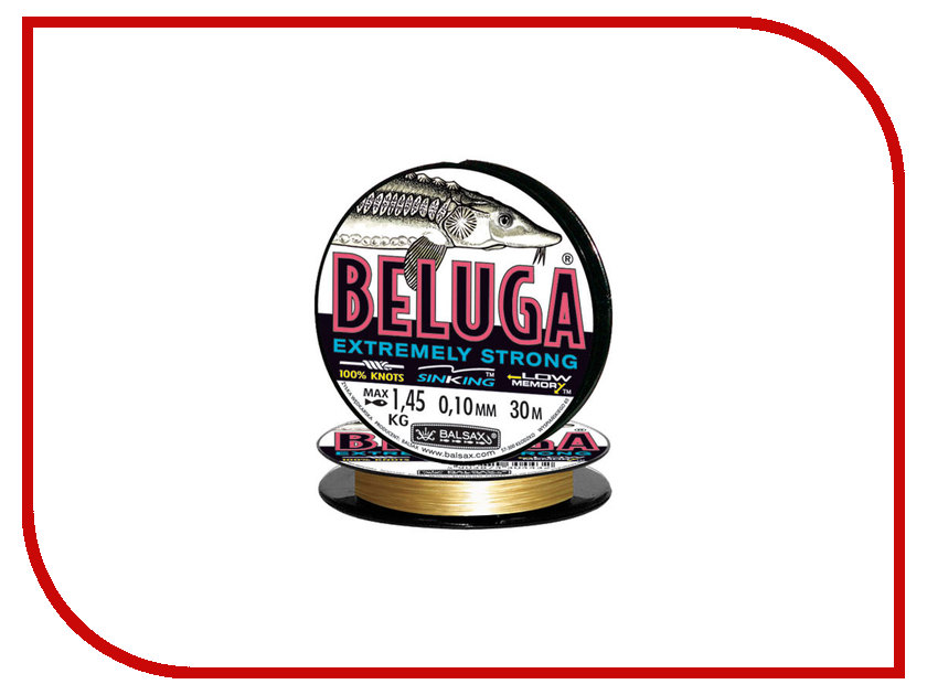 Леска Balsax Beluga 30m 0.10mm