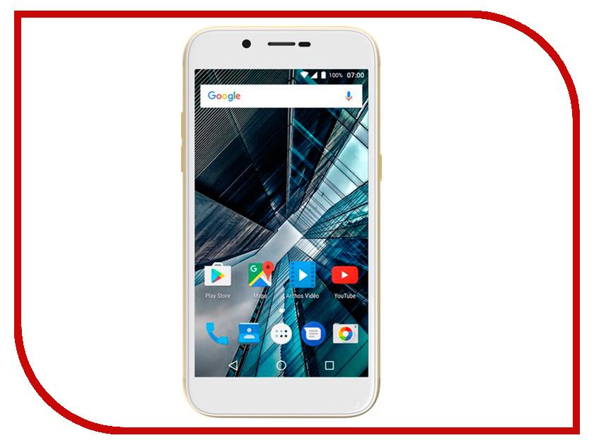Сотовый телефон Archos Sense 50DC Gold 503525 сотовый телефон archos 55 cobalt plus dark grey