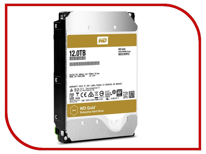 Жесткий диск 12Tb - Western Digital Gold WD121KRYZ