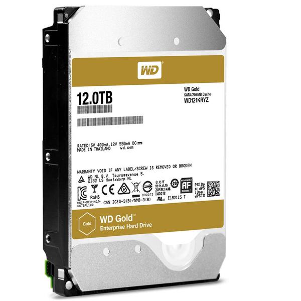 Жесткий диск Western Digital 12Tb Gold WD121KRYZ