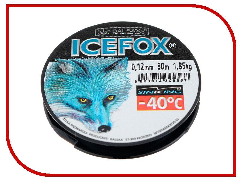 Леска Balsax Ice Fox 30m 0.12mm 13-12-20-177