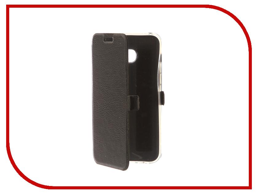 Аксессуар Чехол Samsung Galaxy A3 2017 CaseGuru Magnetic Case Dark Black 99870 аксессуар защитное стекло samsung galaxy a3 2017 solomon full cover black