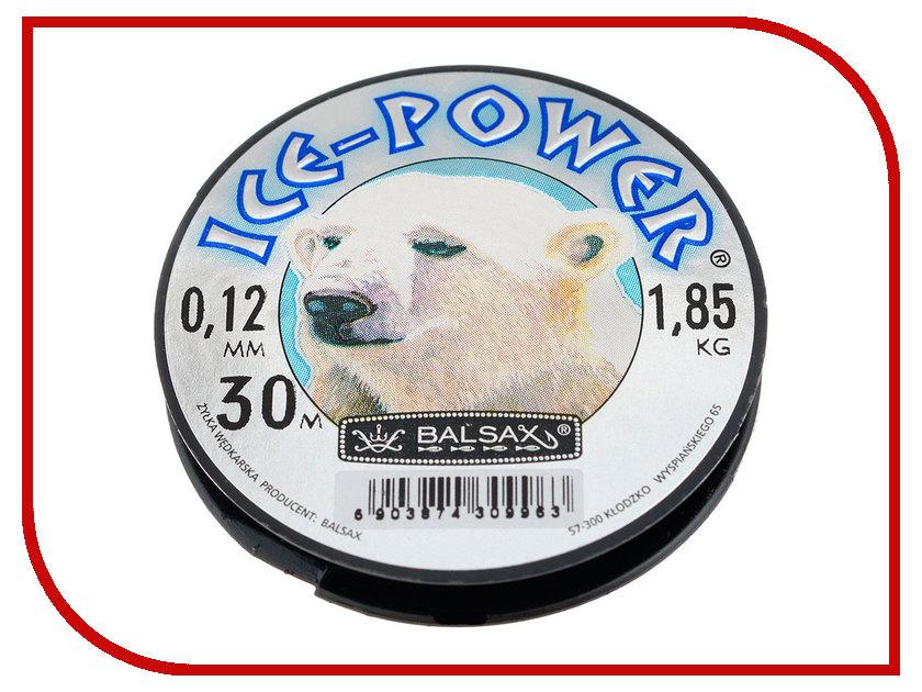 Леска Balsax Ice-Power 30m 0.12mm 13-12-20-137