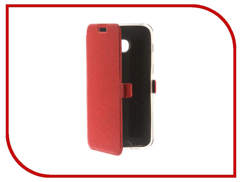 Аксессуар Чехол для Samsung Galaxy A3 2017 CaseGuru Magnetic Case Ruby Red 99868 аксессуар чехол накладка samsung galaxy a3 2016 caseguru liquid 87798