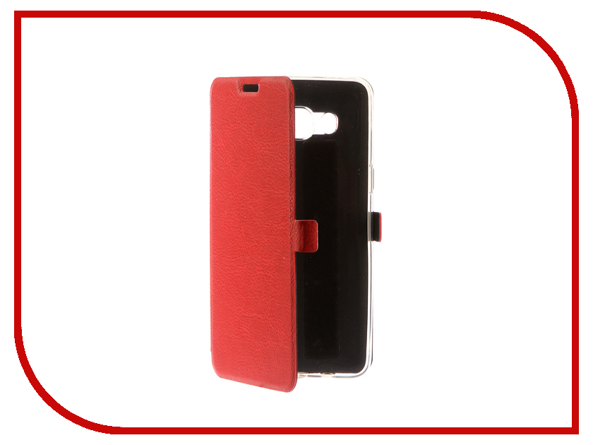 Аксессуар Чехол для Samsung Galaxy J5 2016 CaseGuru Magnetic Case Ruby Red 100497 пена для ванны natura siberica пена для ванн энергия и тонус кожи 550 мл
