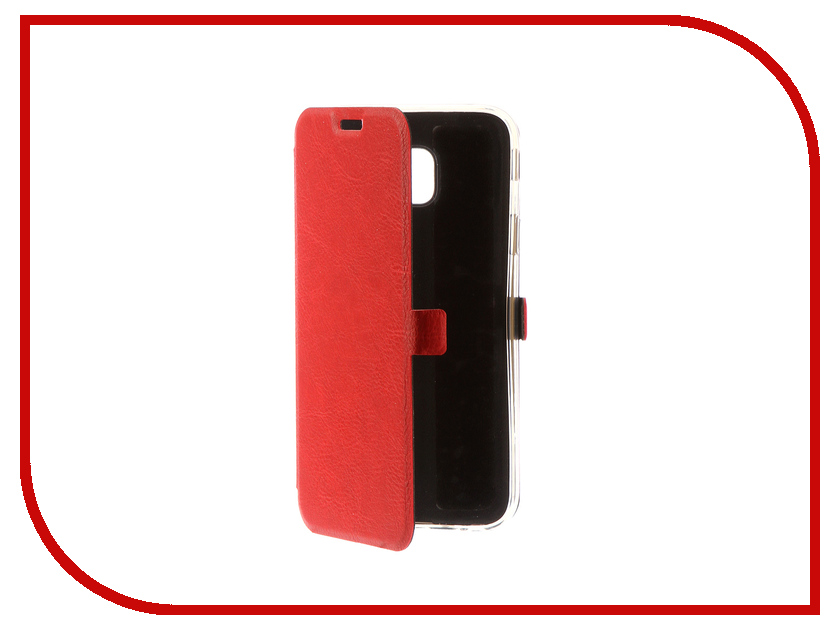 Аксессуар Чехол для Samsung Galaxy J3 2017 CaseGuru Magnetic Case Ruby Red 99904 аксессуар чехол для samsung sm j330 galaxy j3 2017 activ the ultimate experience leather red 75635