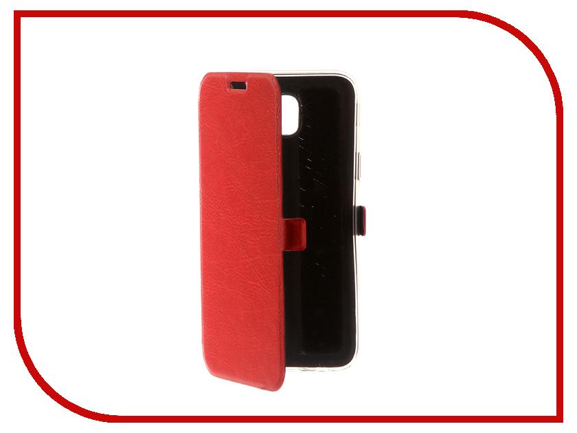 Здесь можно купить 99916  Аксессуар Чехол Samsung Galaxy J5 2017 CaseGuru Magnetic Case Ruby Red 99916