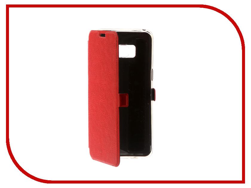 Аксессуар Чехол для Samsung Galaxy S8 CaseGuru Magnetic Case Ruby Red 100521 аксессуар чехол для samsung galaxy j5 2016 caseguru magnetic case glossy black 100494
