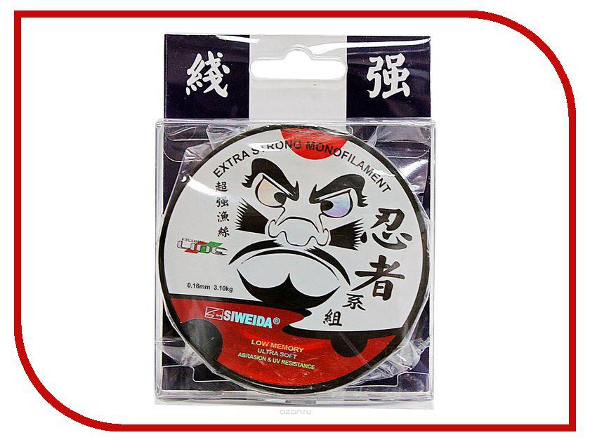 Леска Siweida SWD Ninja 100m 0.18mm 3.8kg 5233181 siweida удилище siweida tiger 4м 2416401