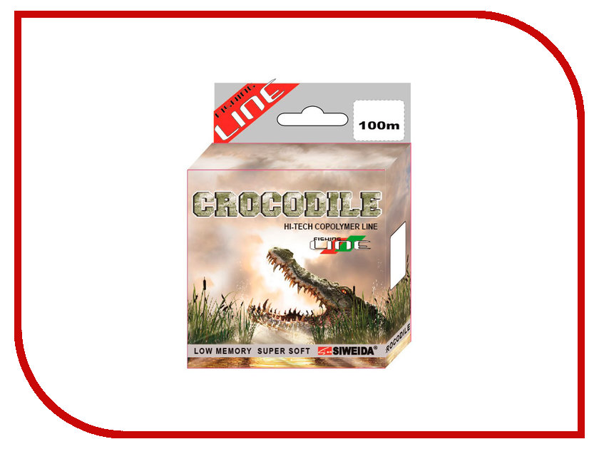 Леска Siweida SWD Crocodile 100m 0.20mm 4.1kg 5208202