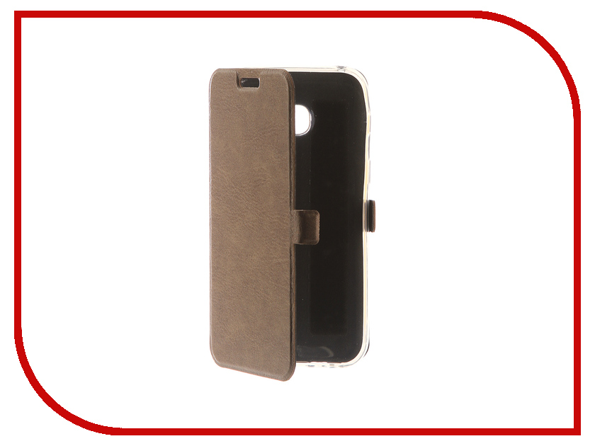 Аксессуар Чехол для Samsung Galaxy A3 2017 CaseGuru Magnetic Case Light Brown 99869 аксессуар чехол накладка samsung galaxy a3 2016 caseguru liquid 87798
