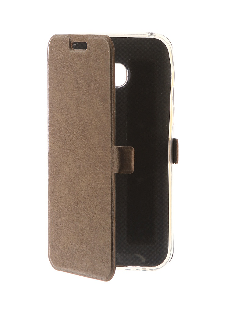 Аксессуар Чехол CaseGuru для Samsung Galaxy A3 2017 Magnetic Case Light Brown 99869 цена и фото