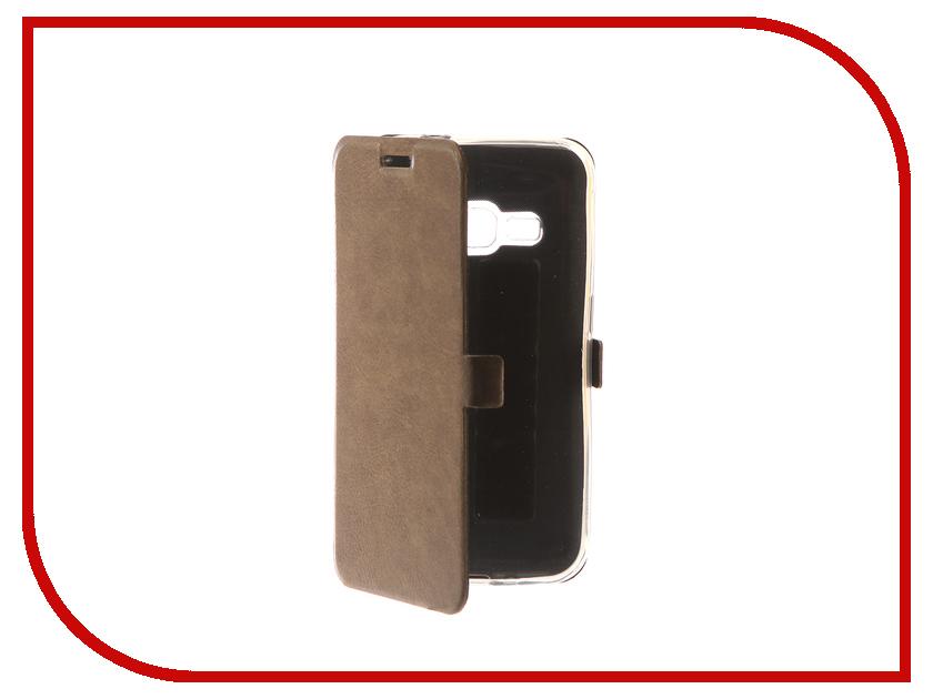 Аксессуар Чехол для Samsung Galaxy J1 2016 CaseGuru Magnetic Case Light Brown 101049 чехол для для мобильных телефонов capa celular samsung galaxy ace 3 iii s7272 s7270 s7275 phone case for samsung galaxy ace 3 iii s7272