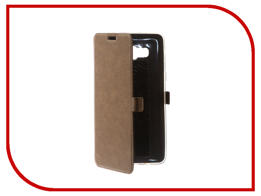 Аксессуар Чехол для Samsung Galaxy J5 2016 CaseGuru Magnetic Case Light Brown 100498