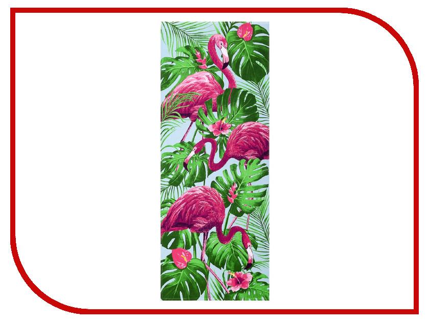 Полотенце Collorista Фламинго 60x146cm 2588690 плед collorista экономь и я зверята 150x130cm 2542749