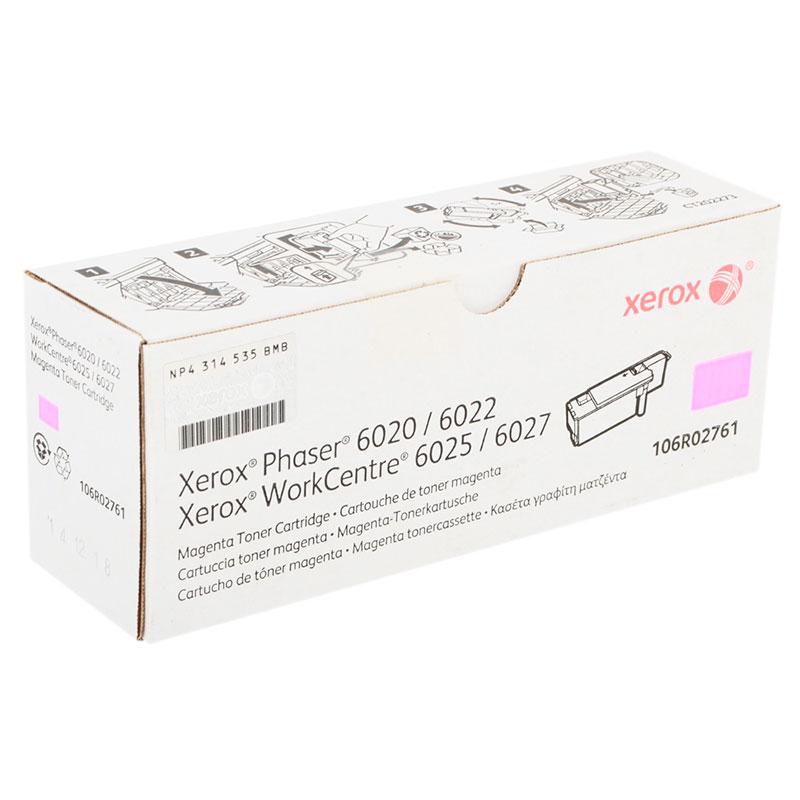 Картридж Xerox 106R02761 Magenta для Phaser 6020/22 / WorkCentre 6025/27