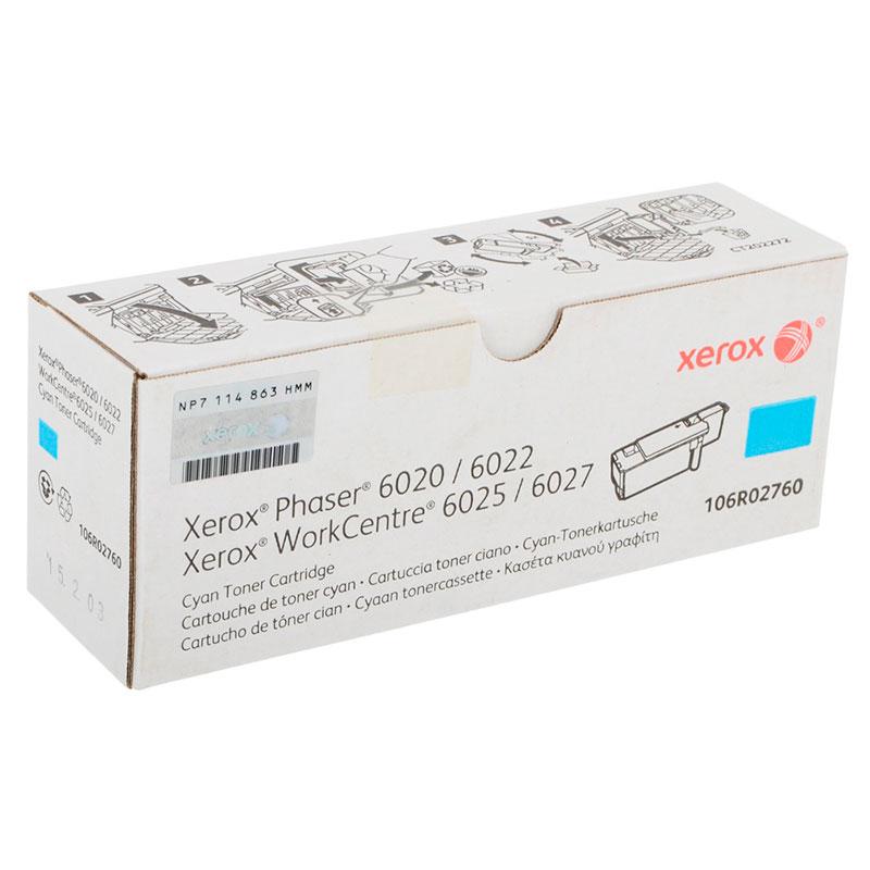 Картридж Xerox 106R02760 Cyan