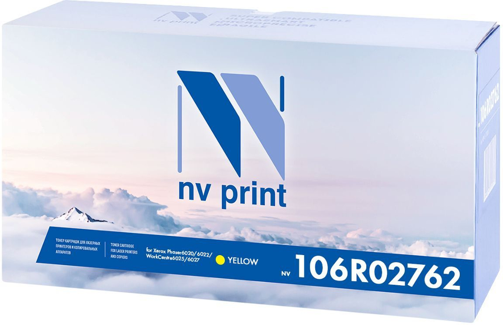 Картридж NV Print Yellow NV-106R02762Y для Phaser 6020/6022 / WorkCentre 6025/6027