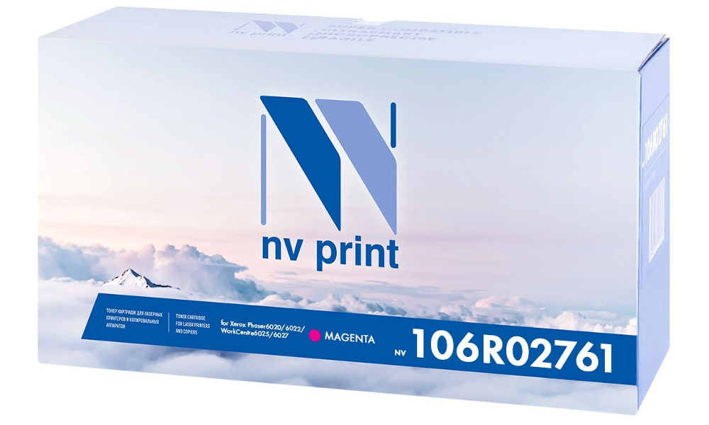 Картридж NV Print Magenta NV-106R02761M для Phaser 6020/6022 / WorkCentre 6025/6027