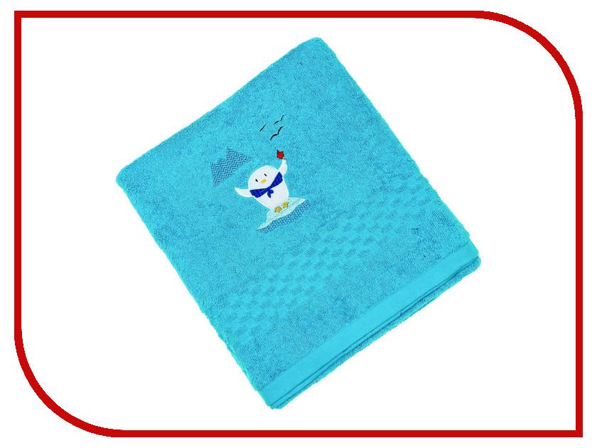 Полотенце Collorista Морское путешествие 100x150cm Blue 2319560 глиняная свеча морское чудо 217026
