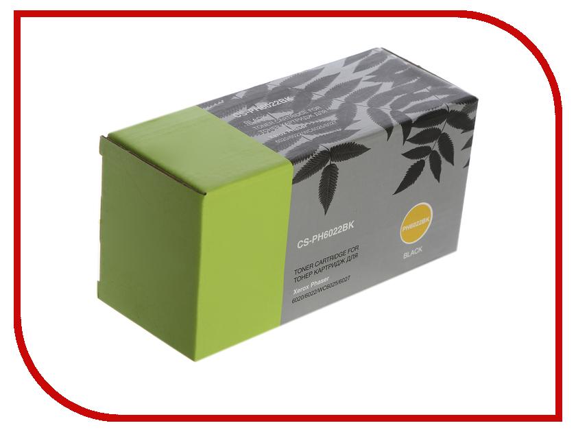 Картридж Cactus Black CS-PH6022BK для Phaser 6020/6022/WC 6025/6027 картридж cactus 520 cs pgi520bk black
